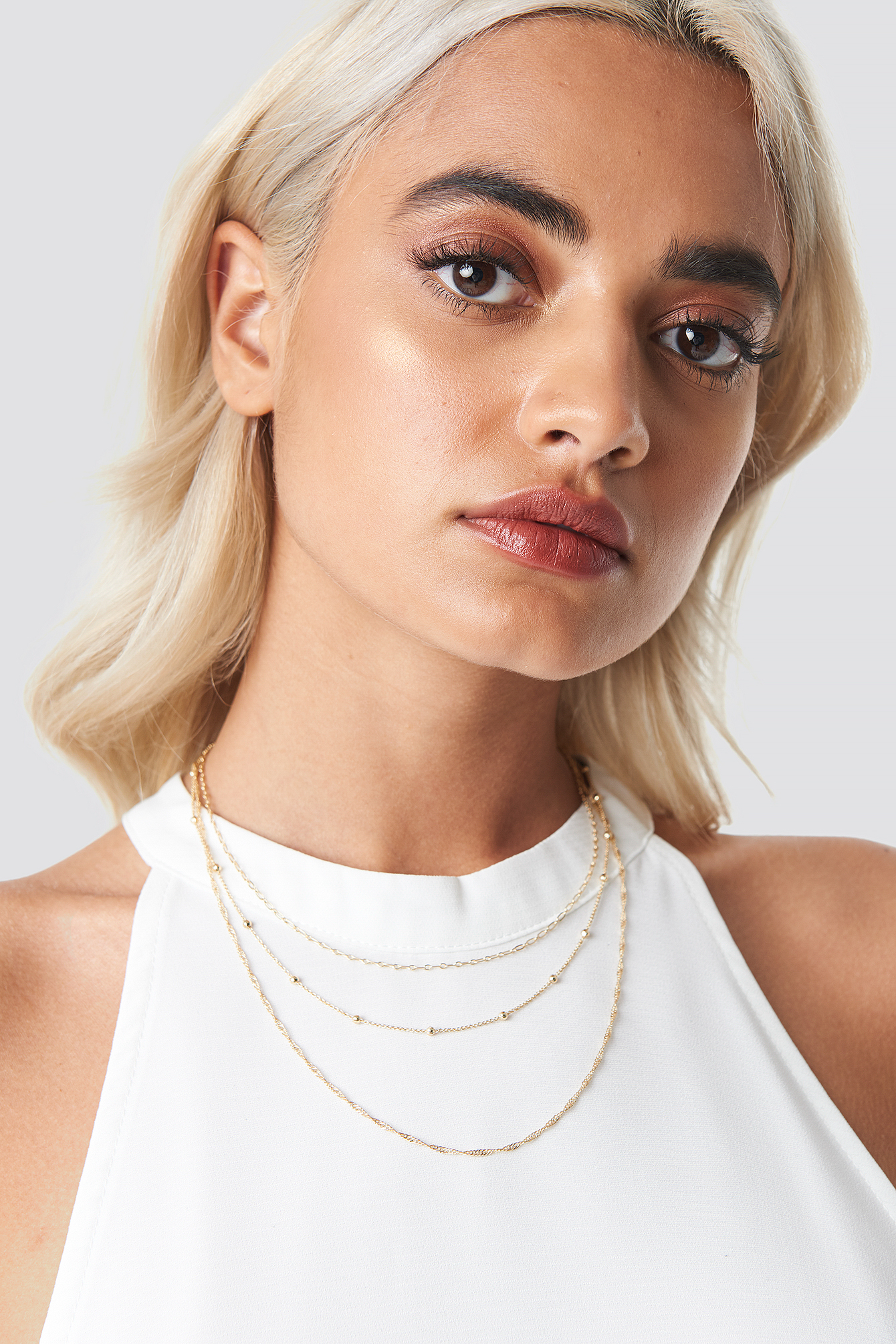 Layered Fine Necklaces NA-KD.COM