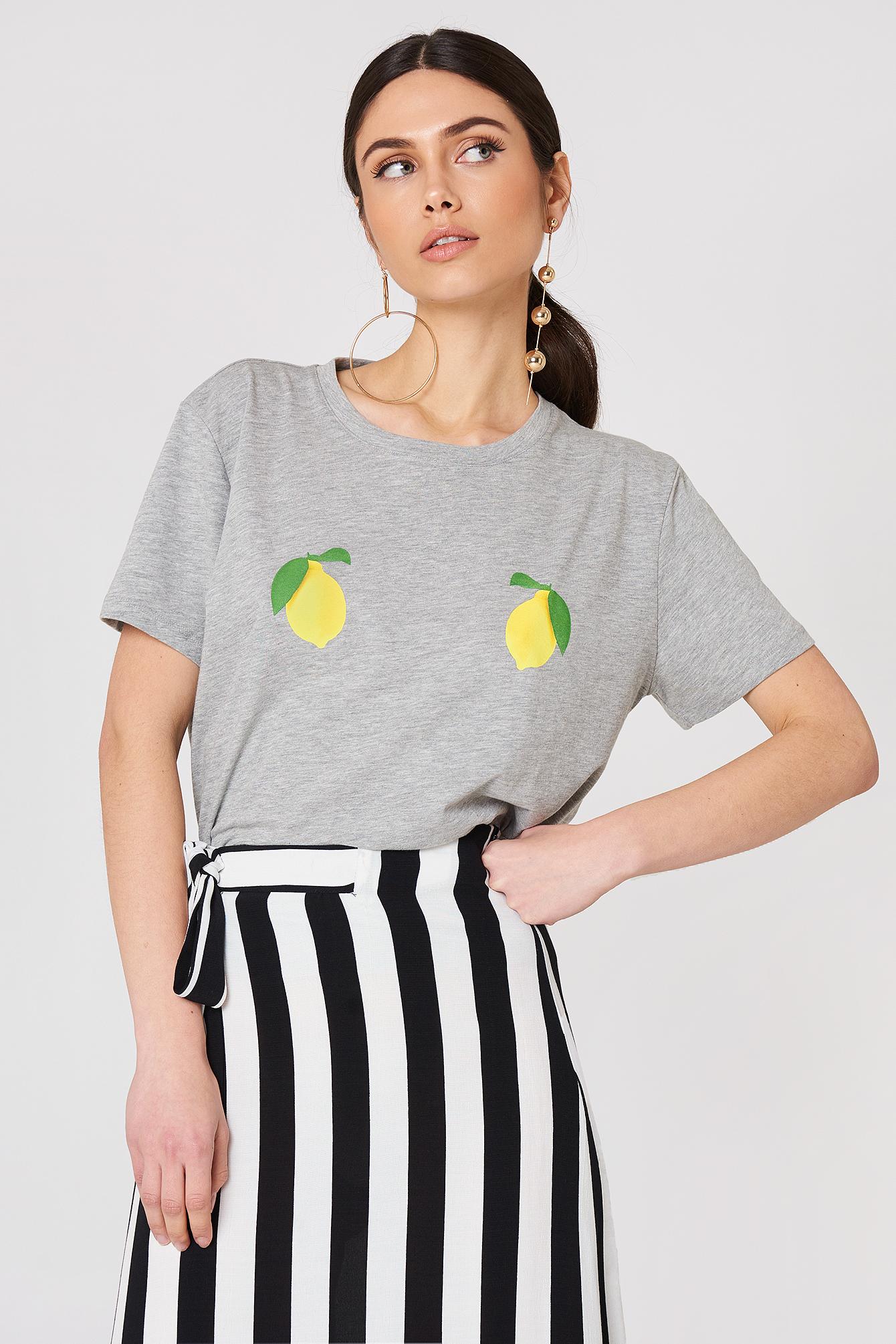 Lemon Tee NA-KD.COM