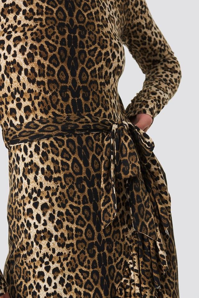 Leo Polo Dress Leopard