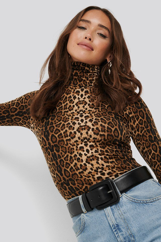Leo Polo Top Leopard