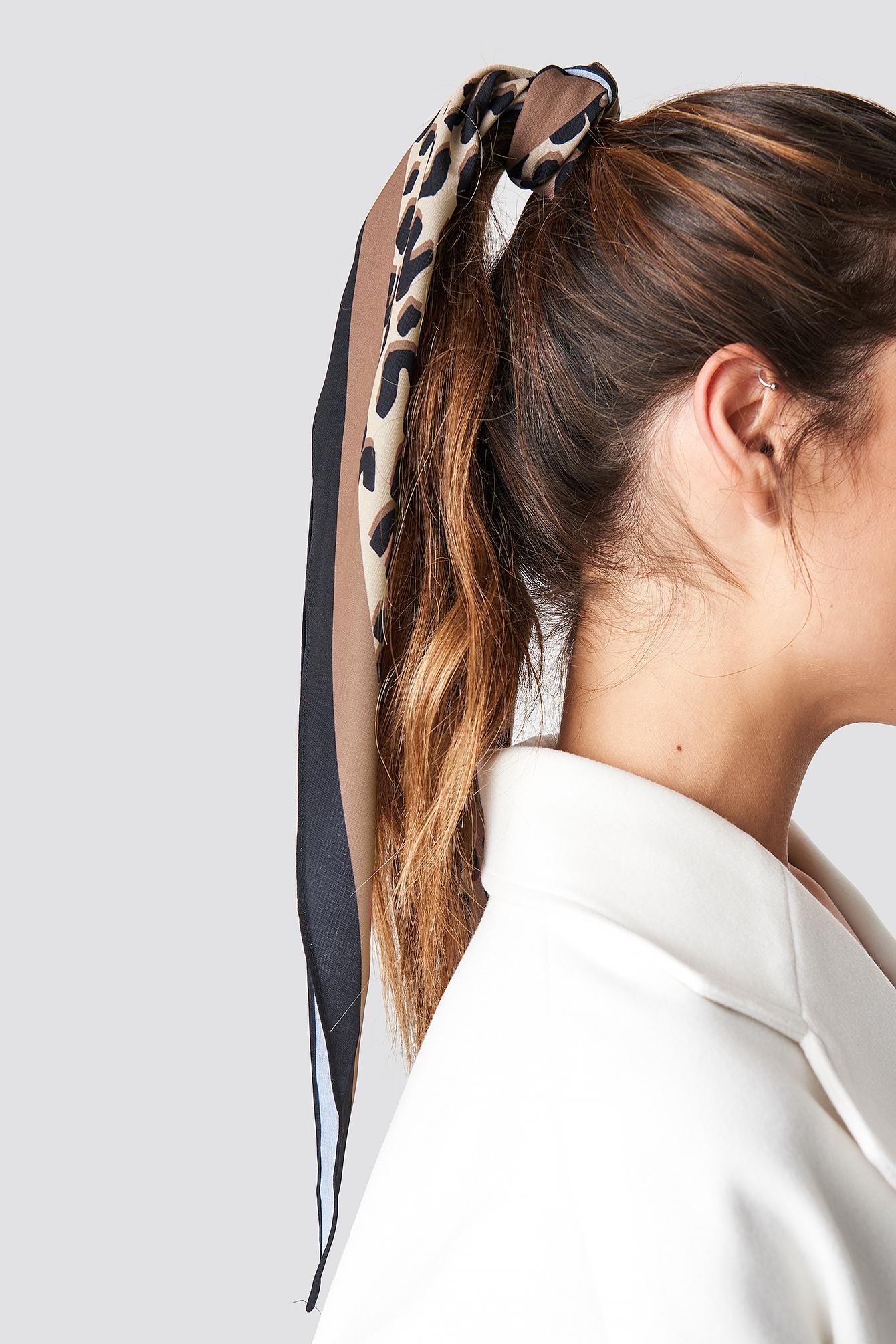 Leo Print Hair Scarf NA-KD.COM