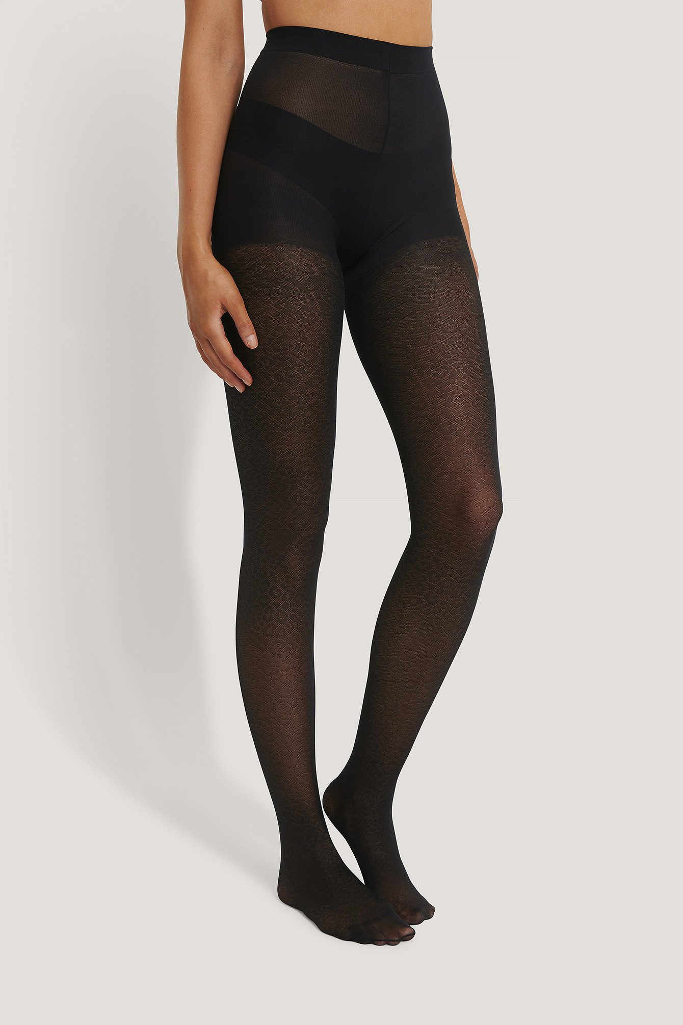 Black Recycled Tights