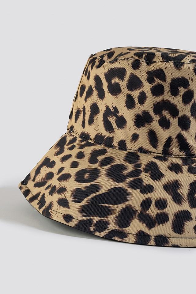 Leopard Bucket Hat Leoprint