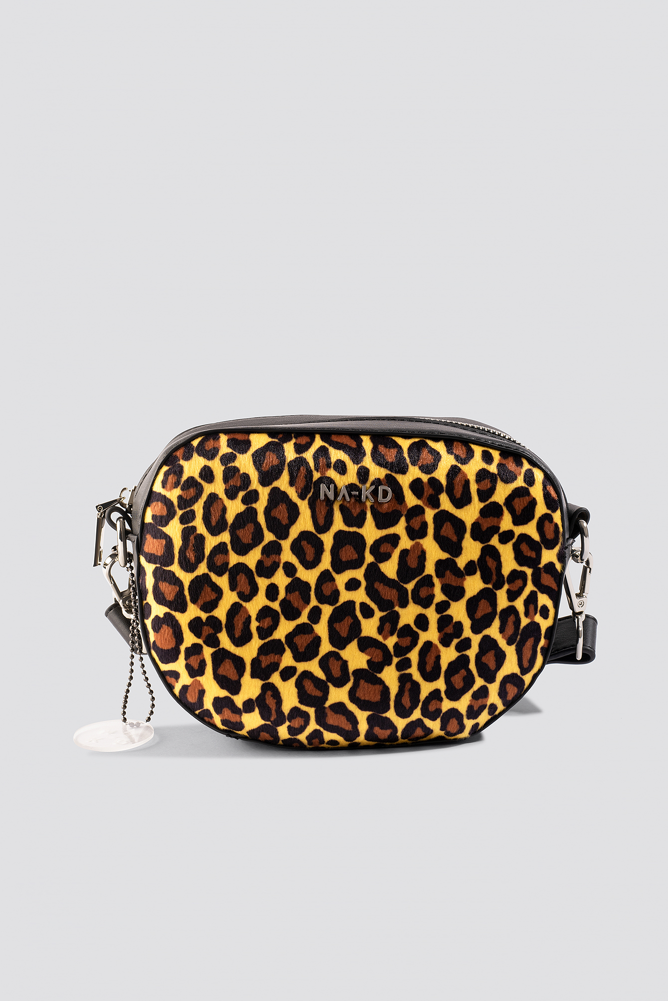 Leopard Crossbody Halfmoon Bag NA-KD.COM