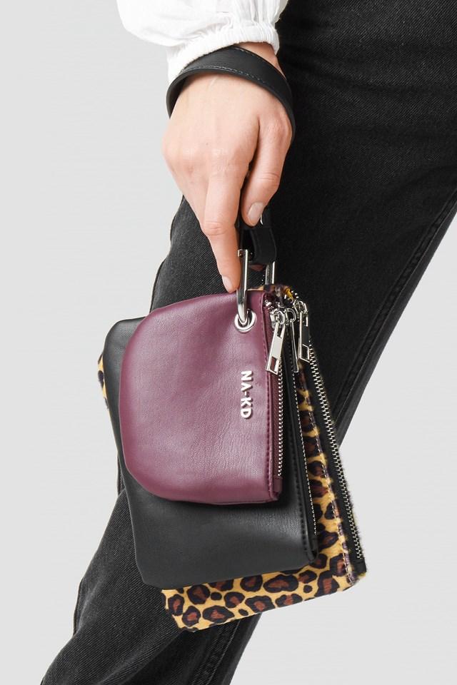 Leopard Layered Clutch Bag NA-KD.COM