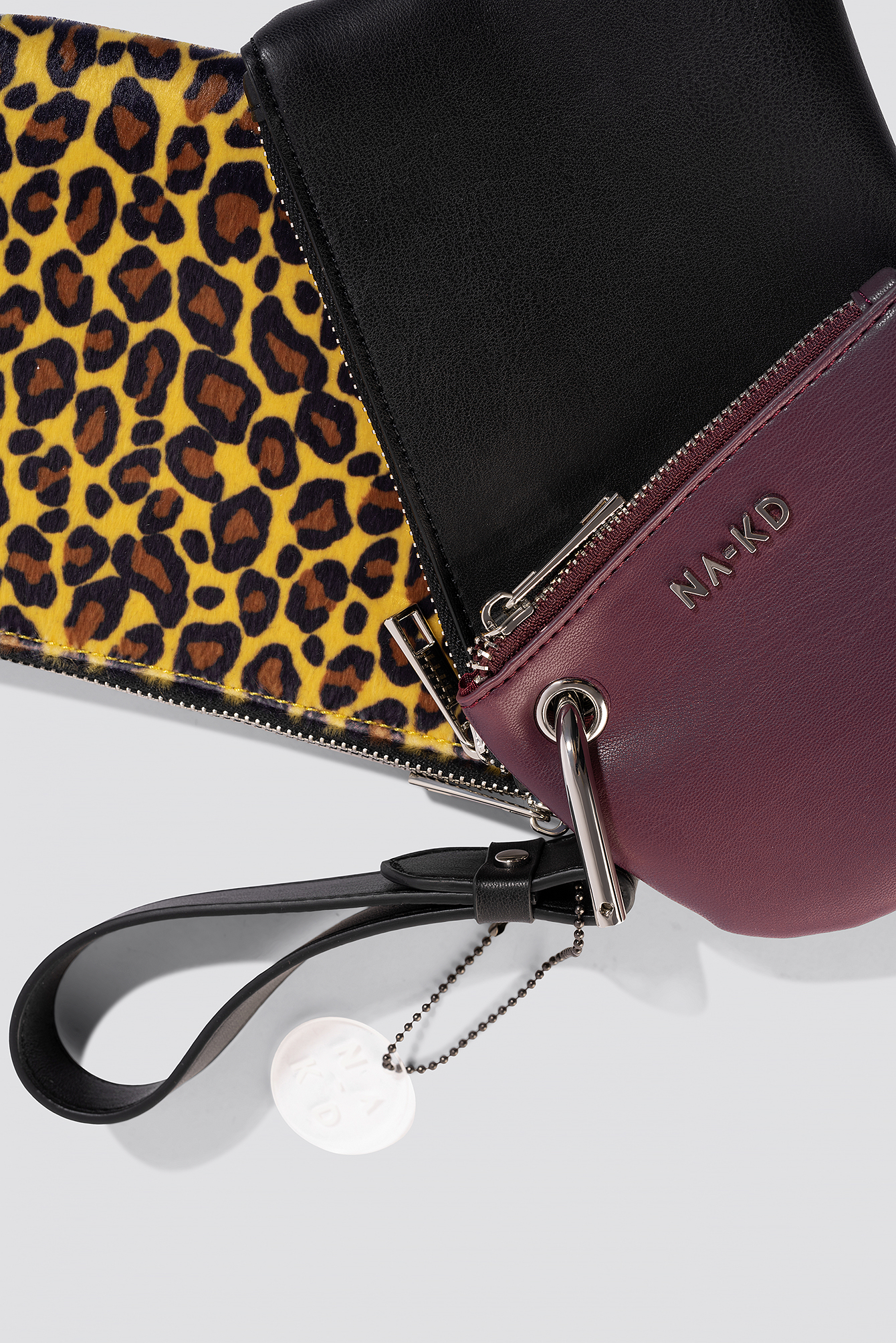 Leopard Layered Clutch Bag NA-KD.COM