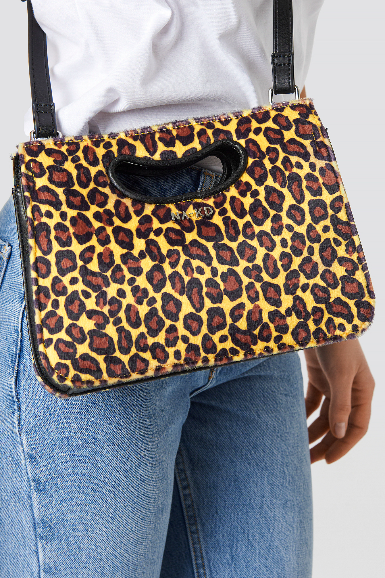 Leopard Mini Tote Cut-Out Handle NA-KD.COM