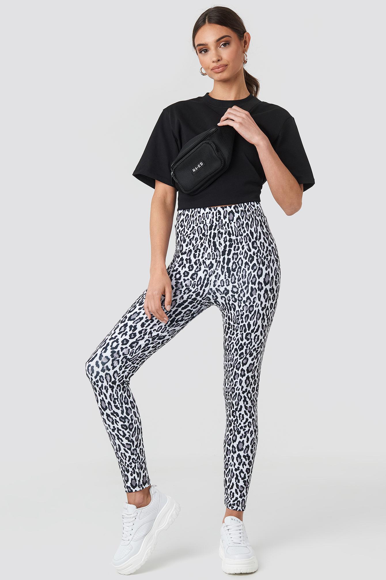 Leopard Print Leggings NA-KD.COM
