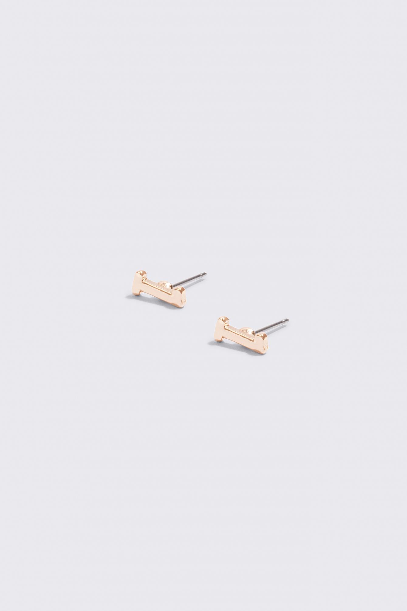 Letter Earrings NA-KD.COM