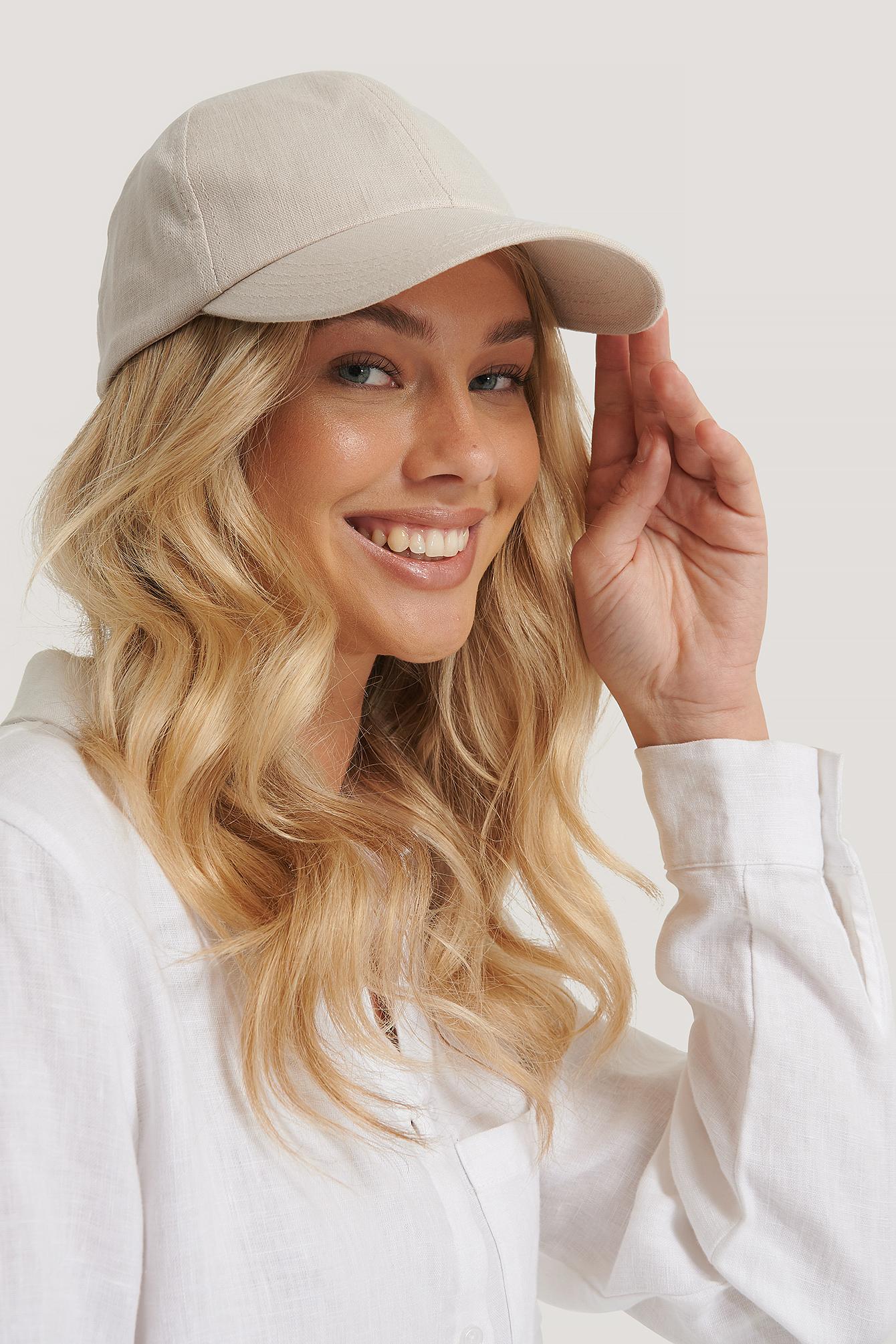 na-kd accessories -  Baseball-Cap - Beige