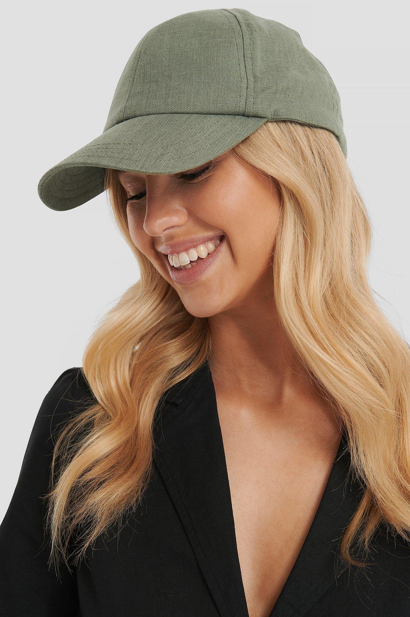 na-kd accessories -  Baseball-Cap - Green
