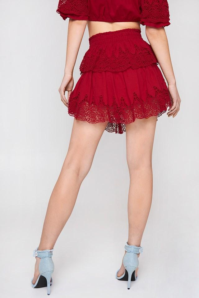 Embroidery Set Skirt NA-KD.COM