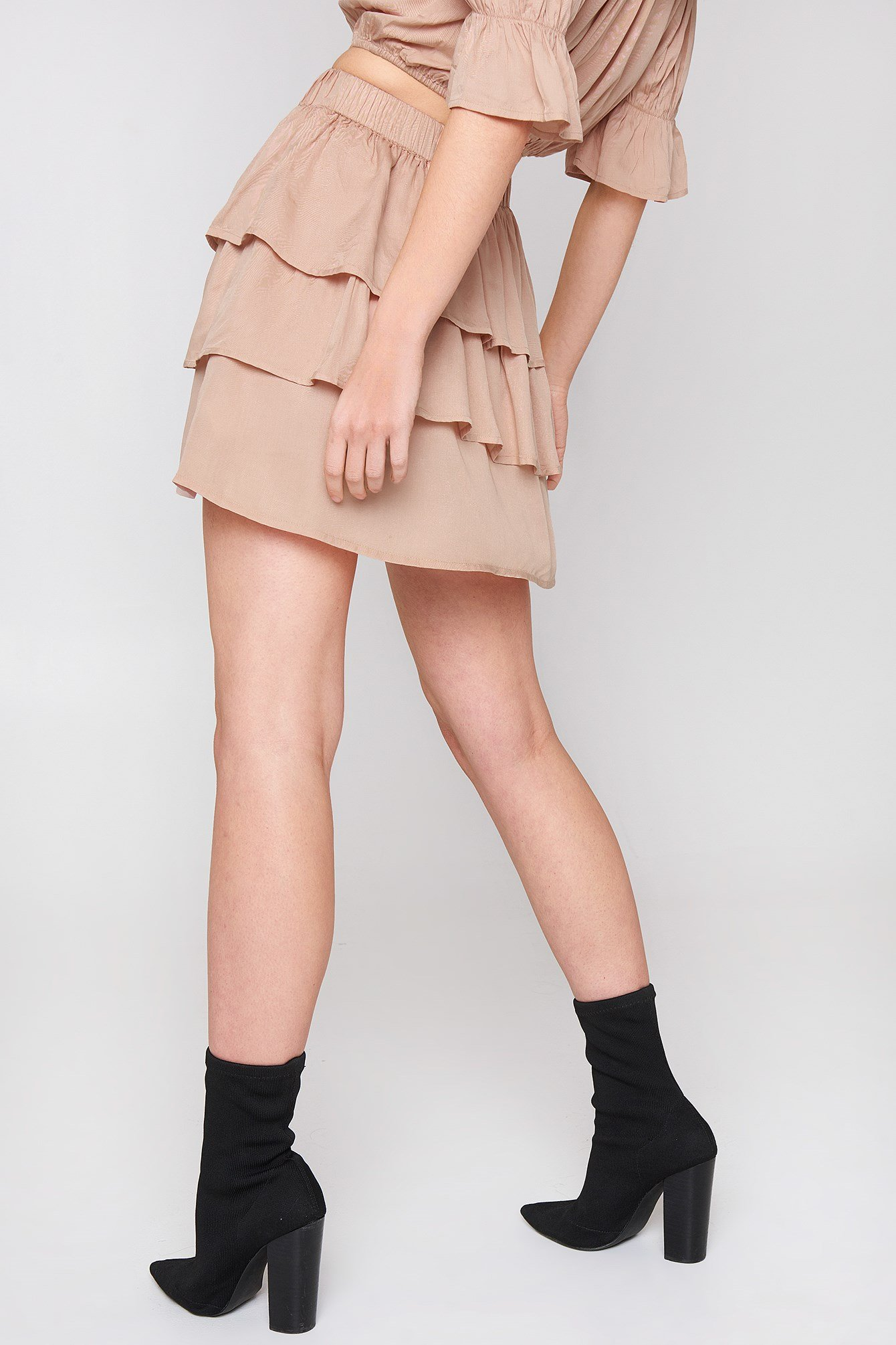 Layered Mini Skirt NA-KD.COM