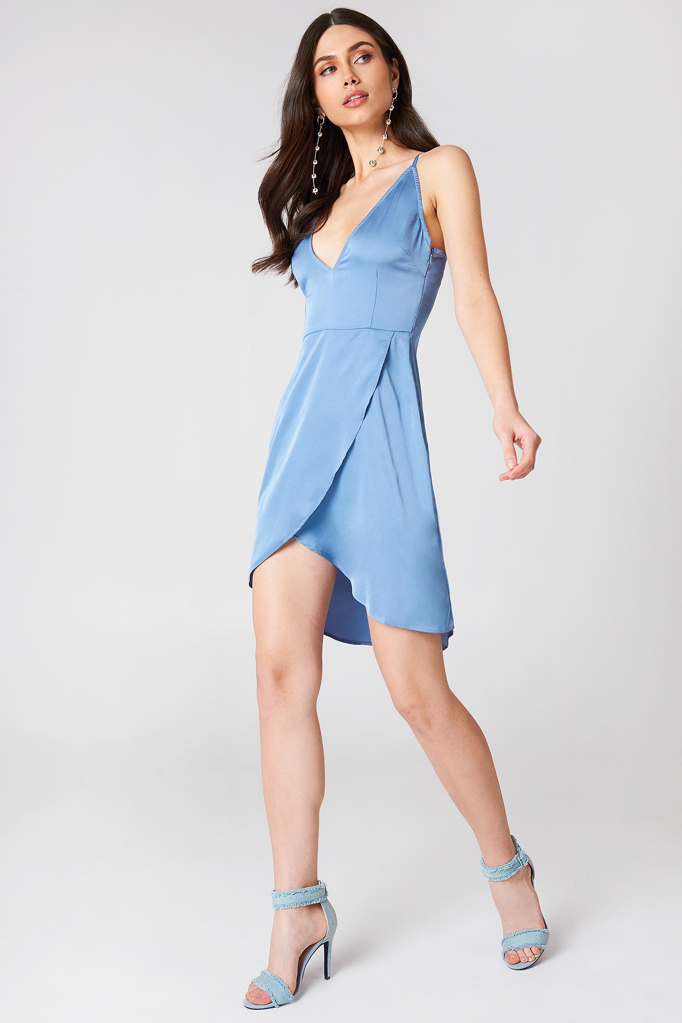Overlapped Front Dress NA-KD.COM