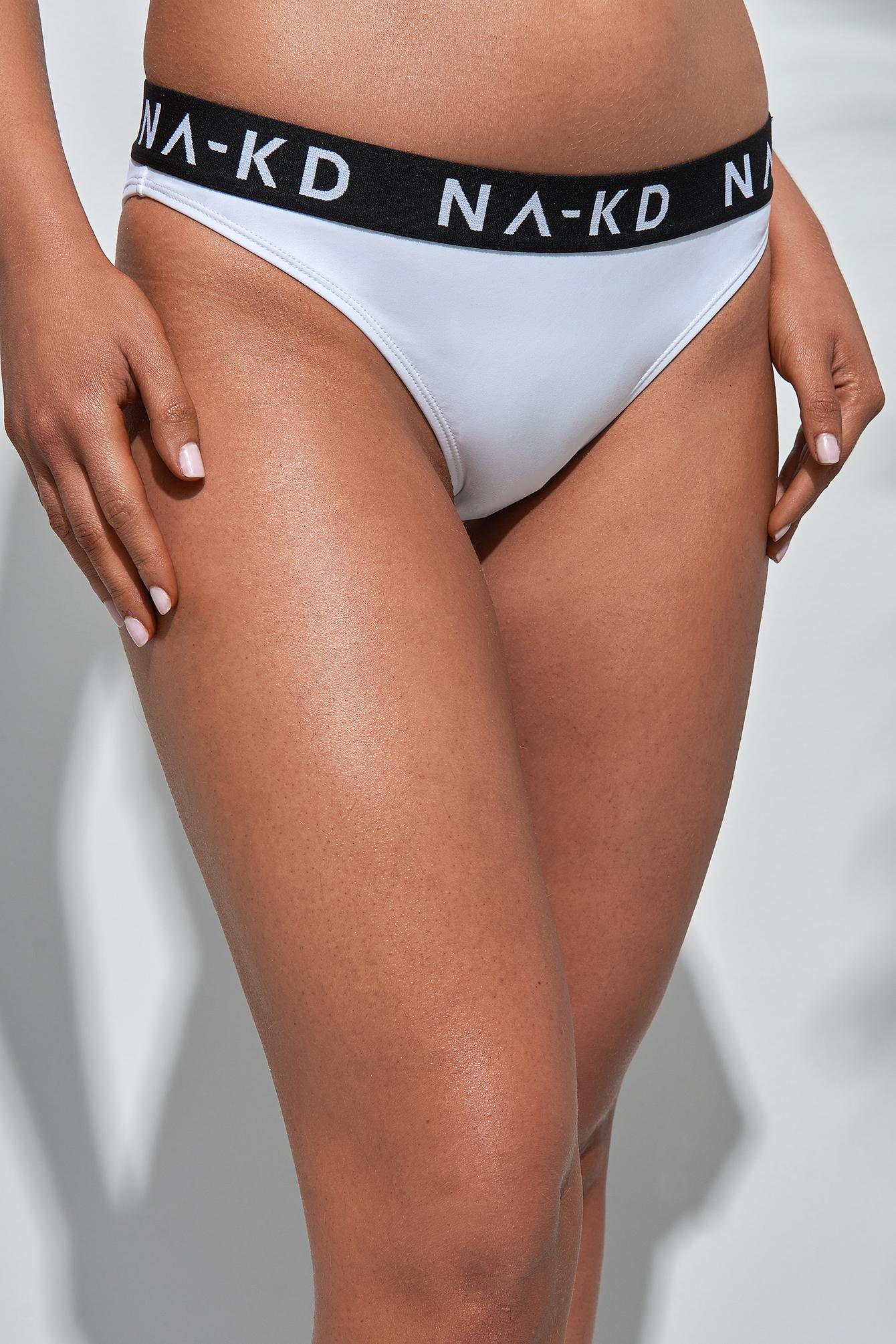 Logo Bikini Briefs NA-KD.COM