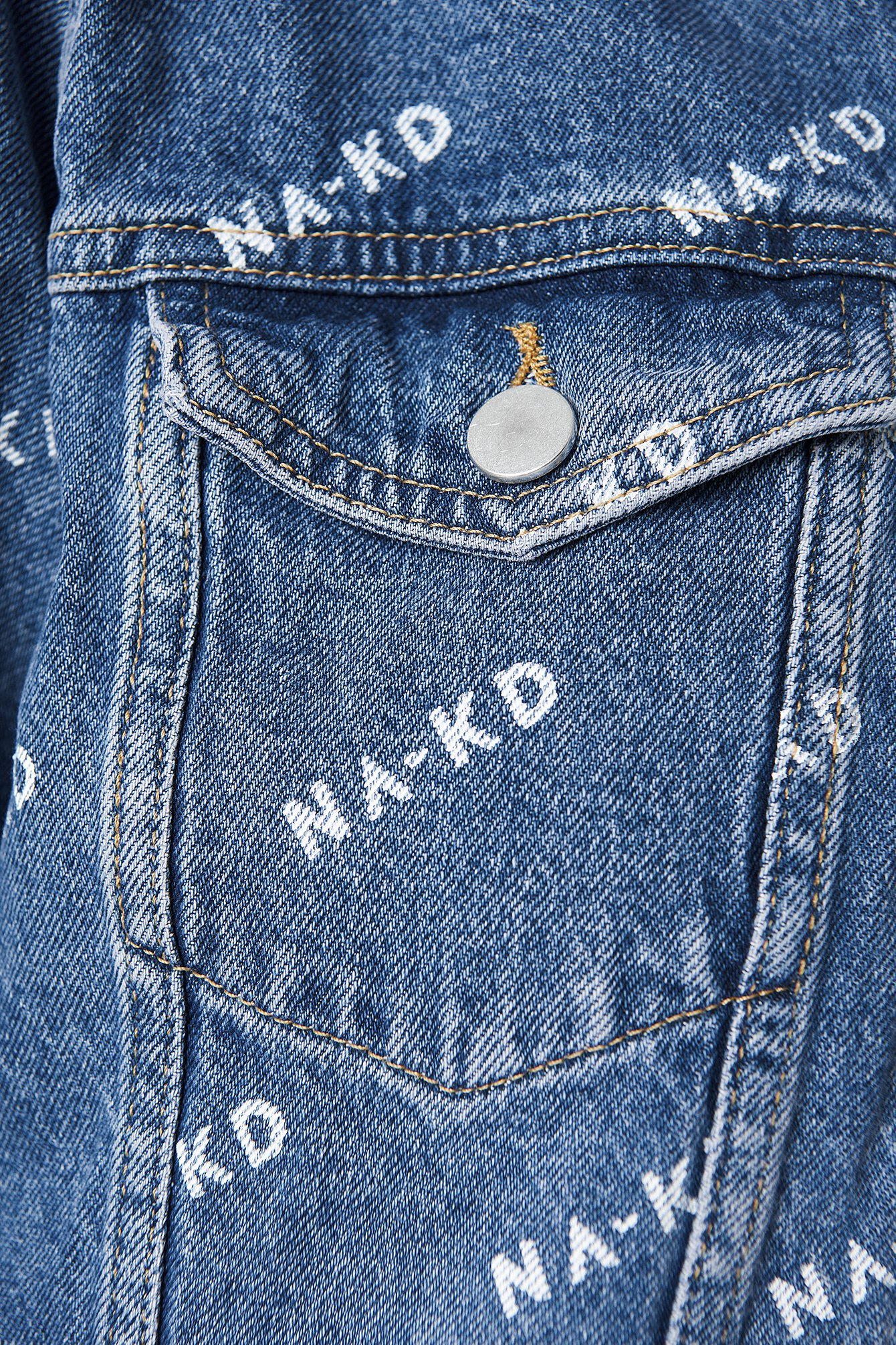 Logo Denim Jacket NA-KD.COM