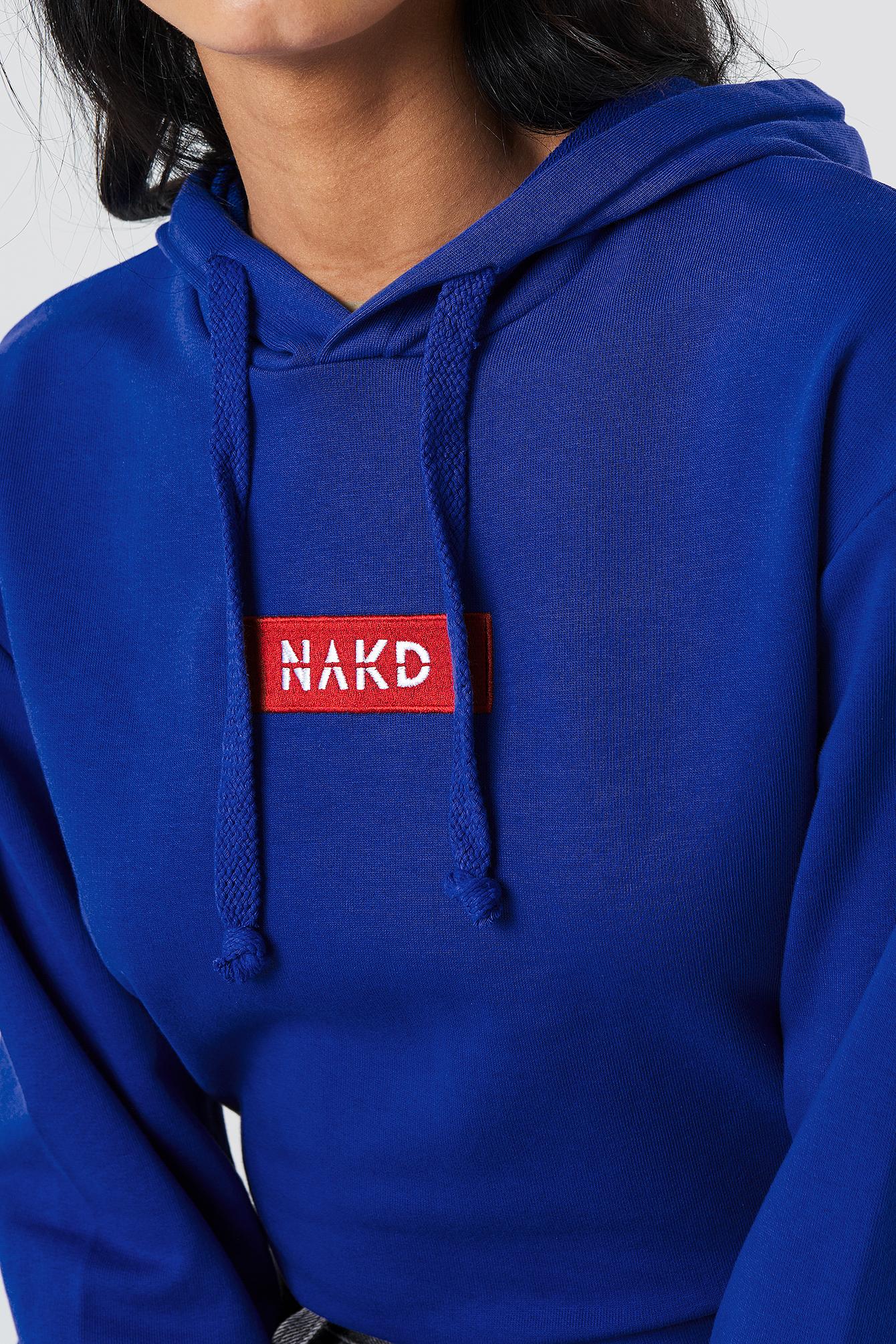 NA-KD Logo Hoodie NA-KD.COM