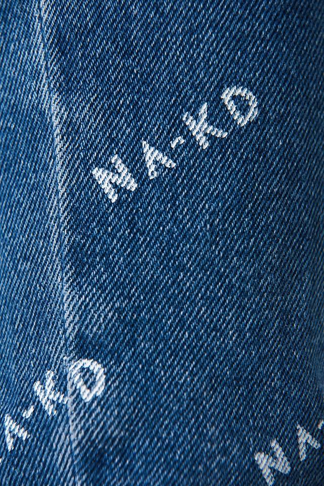 Logo Jeans Mid Blue