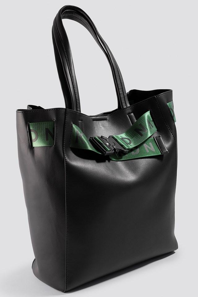 Logo Strap Tote Bag NA-KD.COM