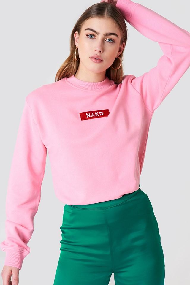 NA-KD Logo Sweater NA-KD.COM