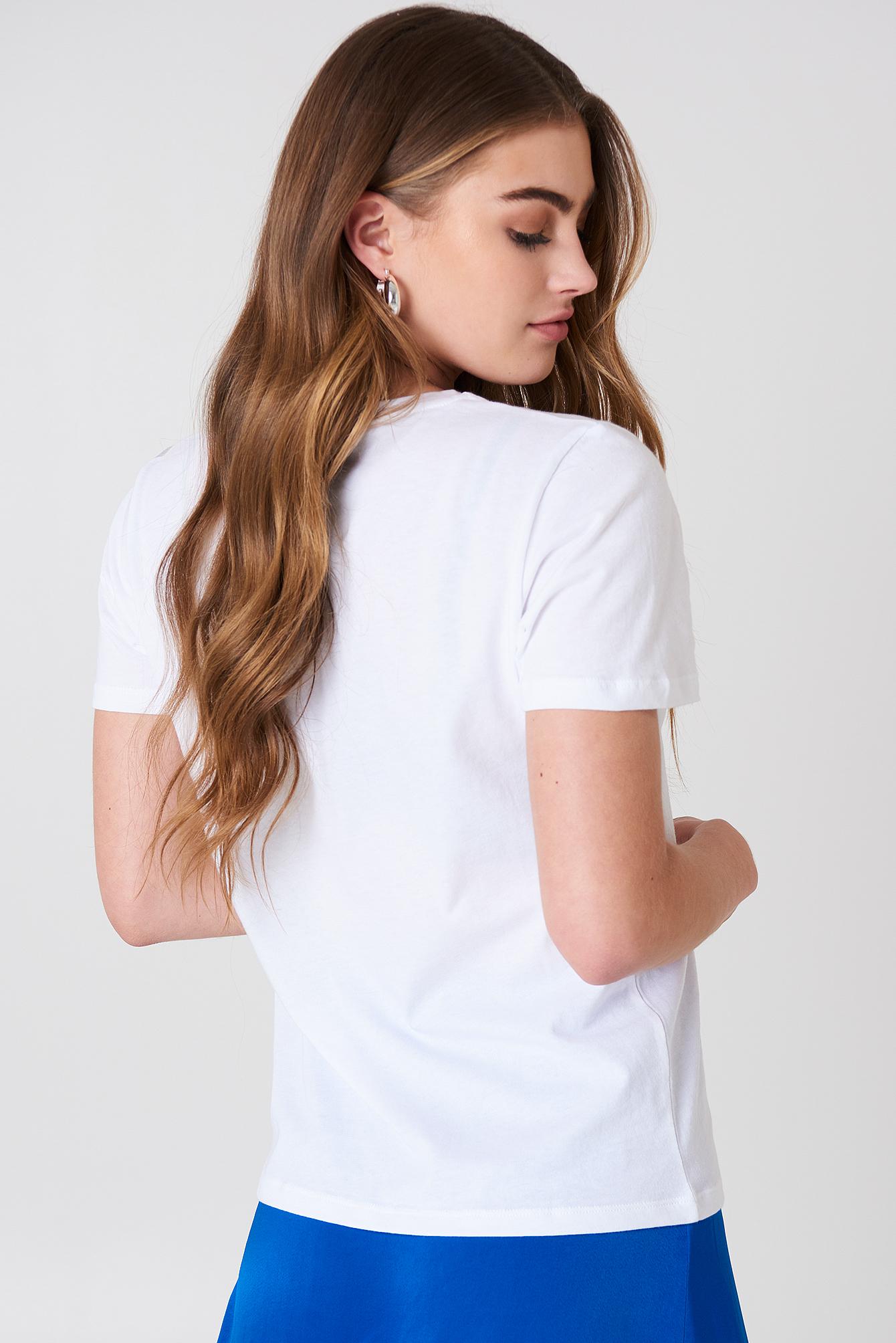 T-shirt NA-KD Logo NA-KD.COM