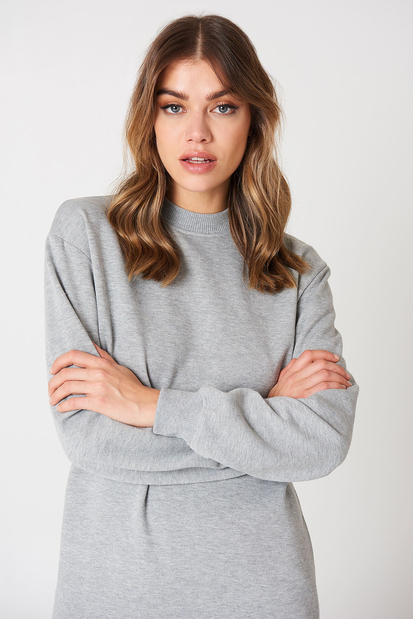 Long Basic Sweater NA-KD.COM