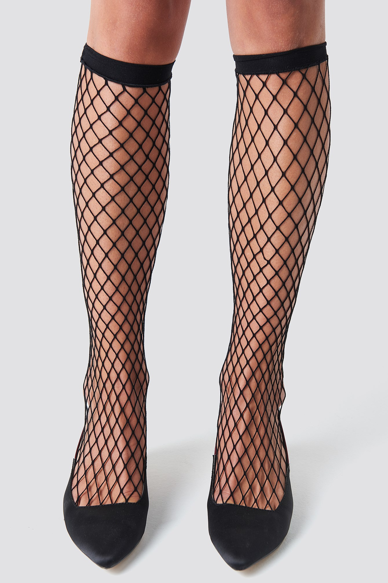 Long Fishnet Socks NA-KD.COM
