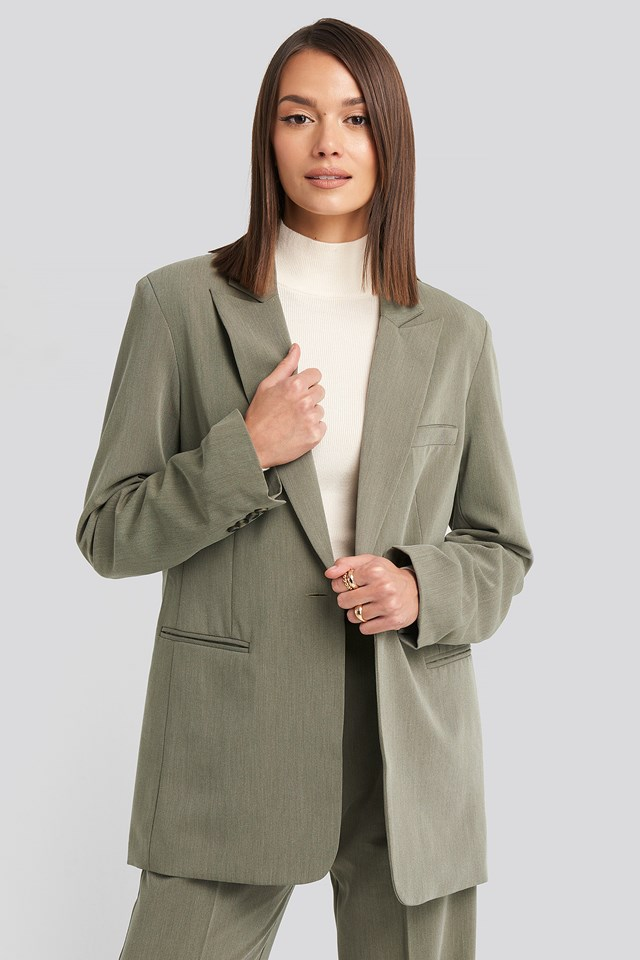 Long Fit Blazer NA-KD Classic