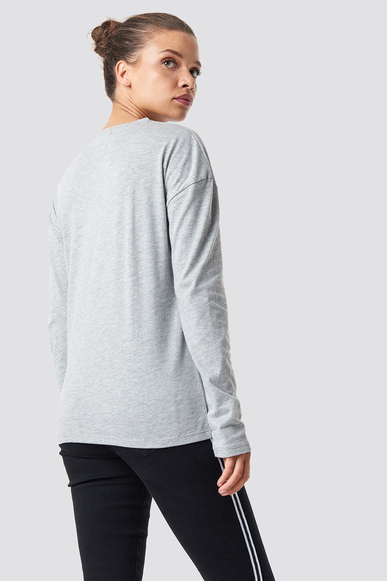 Long Sleeve Basic Top NA-KD.COM