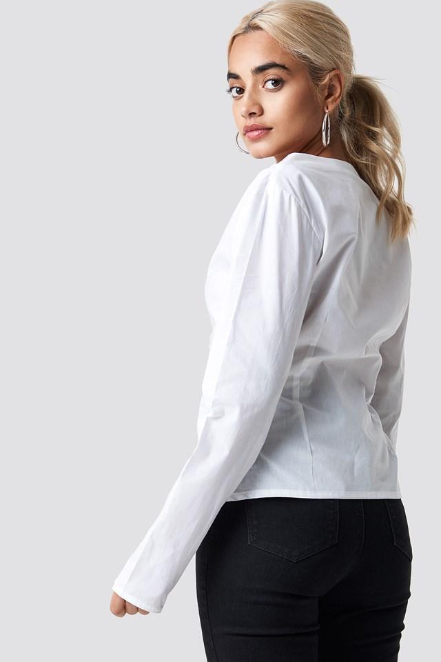 Bluzka z guzikami White