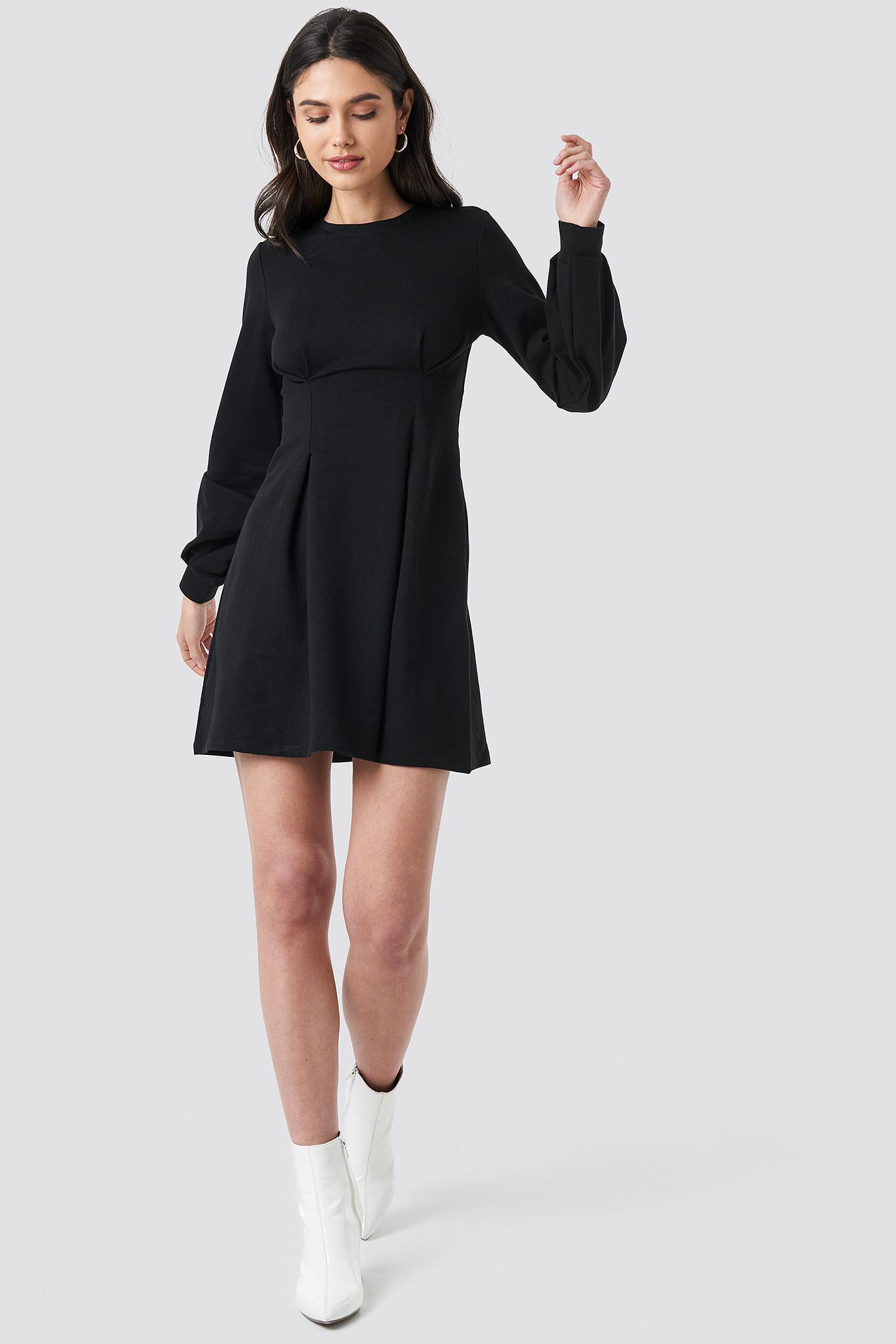 Long Sleeve Sweater Dress NA-KD.COM