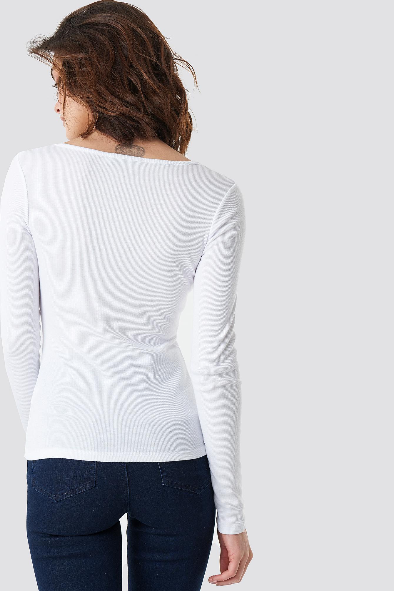 Long Sleeve Zipped Top NA-KD.COM