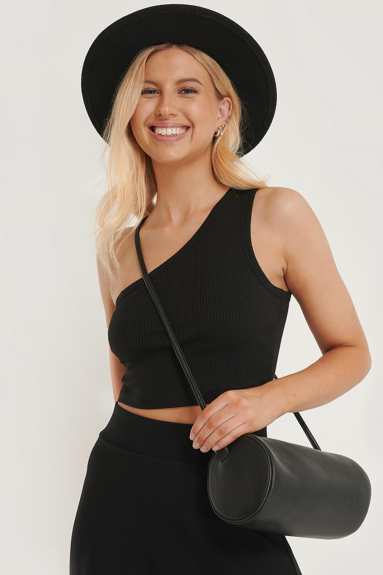 na-kd accessories -  Loop Barrel Bag - Black