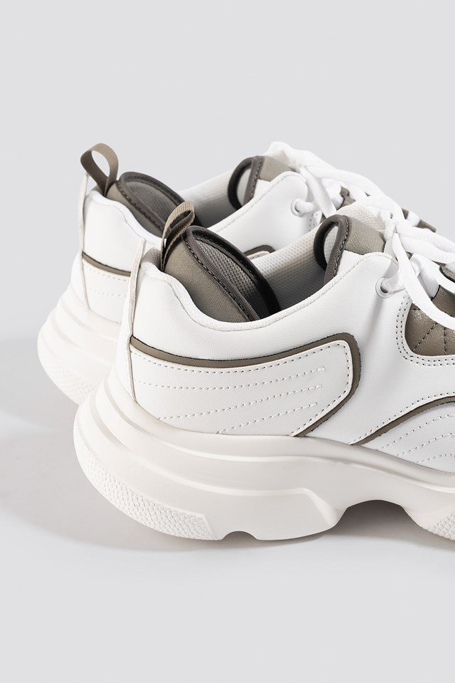 Loop Lacing Trainers NA-KD.COM