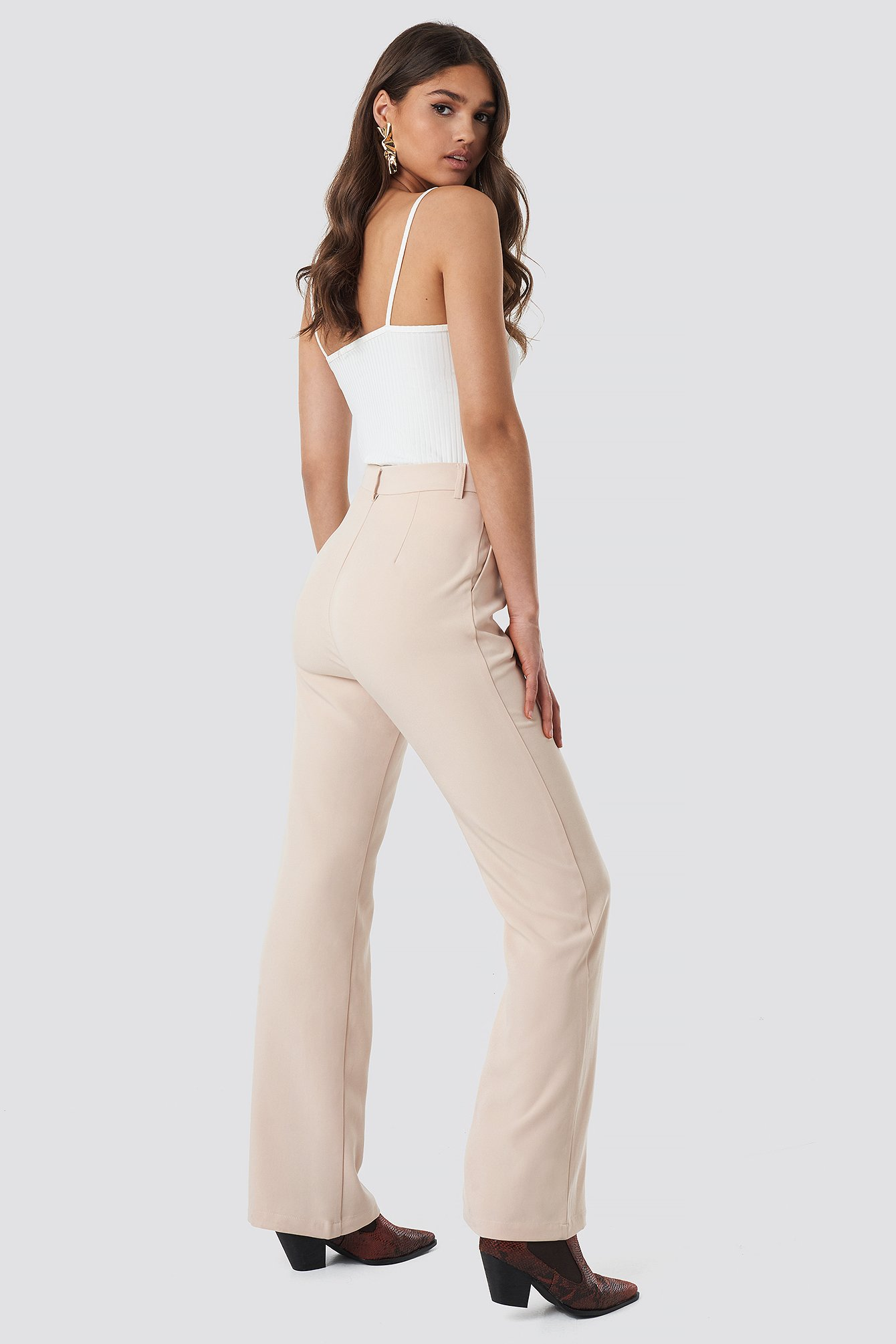 Loose Fit High Waist Pants NA-KD.COM