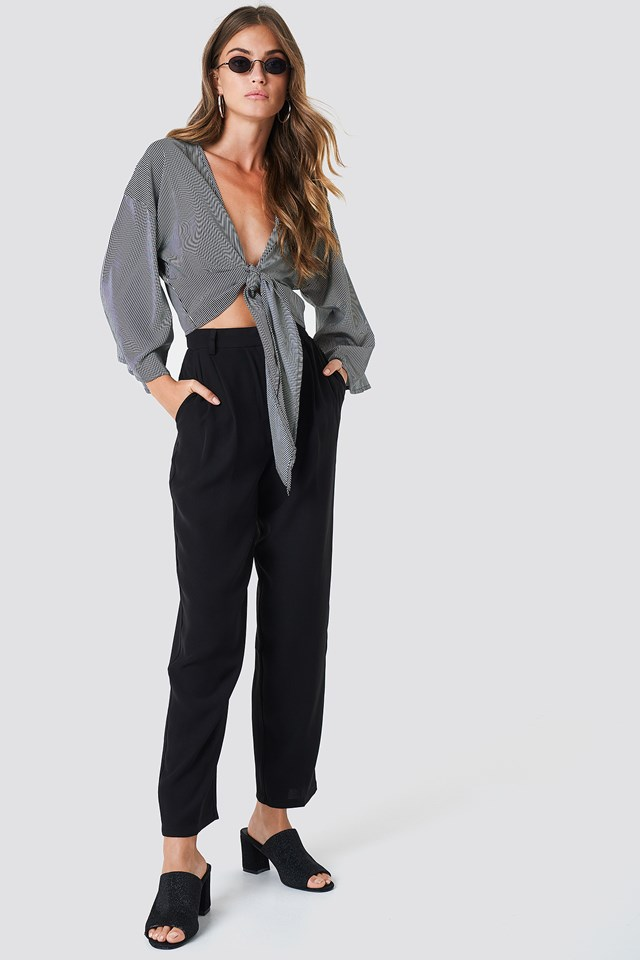 Loose Fit Suit Pants NA-KD Classic