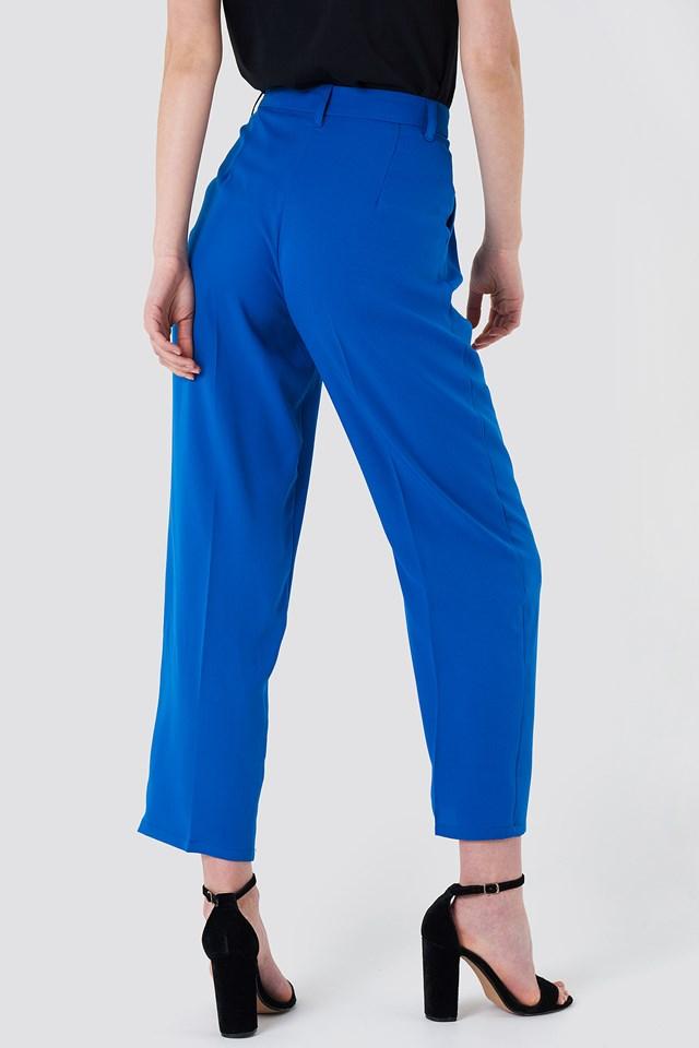 Luźne spodnie garniturowe Cobalt