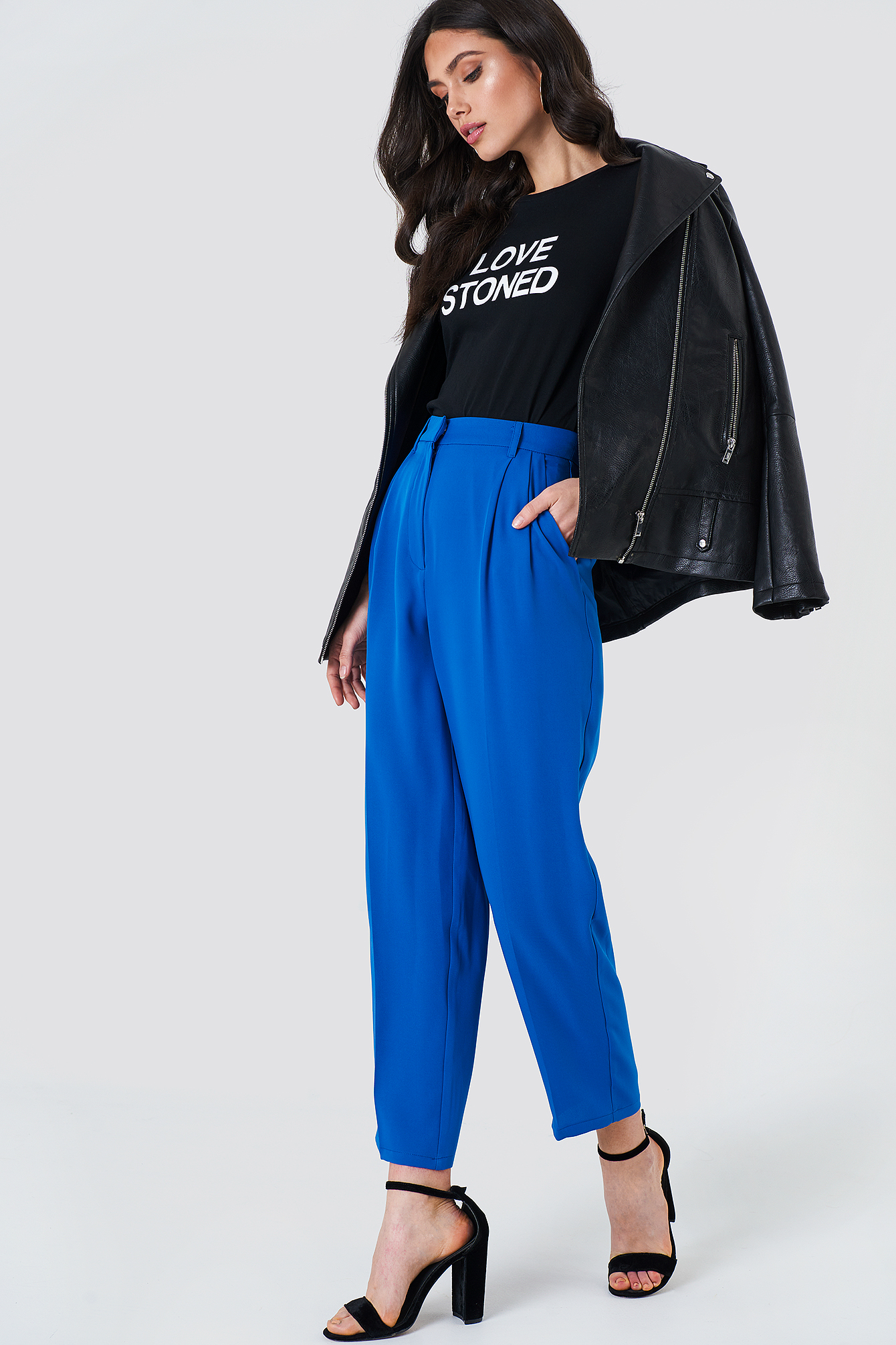 Loose Fit Suit Pants NA-KD.COM