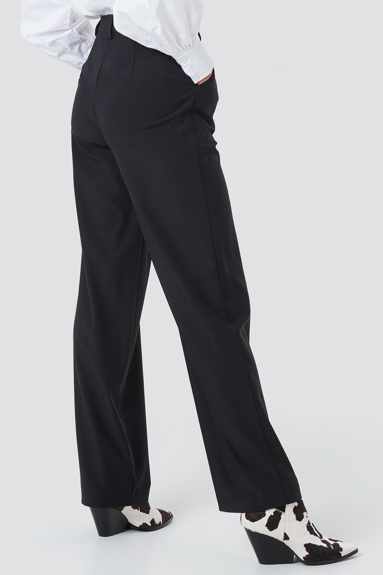 Loose Fitted Suit Pants NA-KD.COM