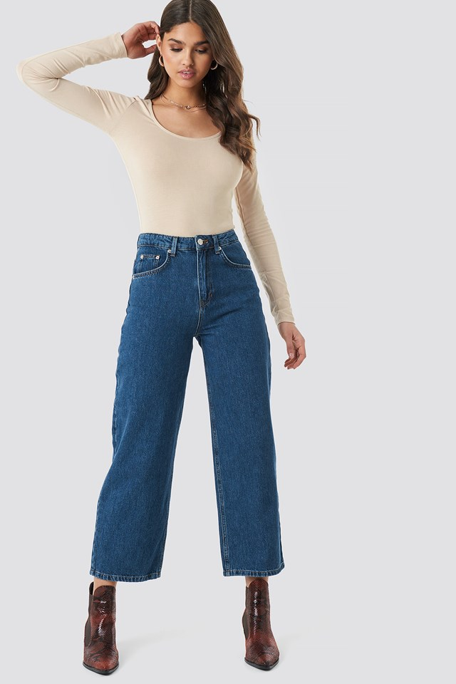 Loose Leg Jeans NA-KD Trend