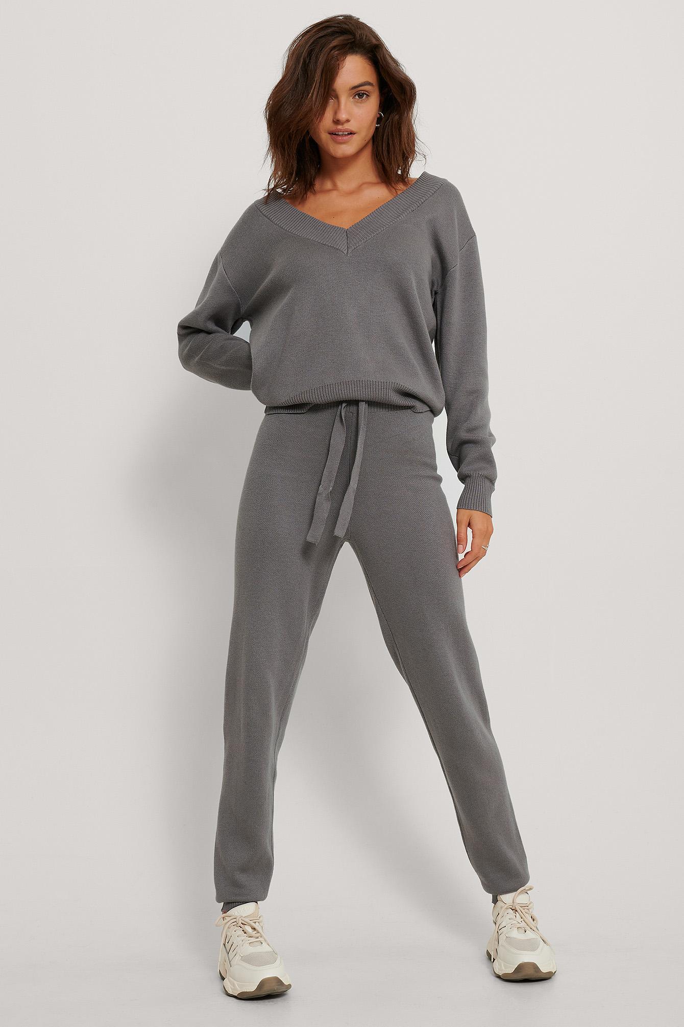 Lounge Pants Grey Na Kd Com
