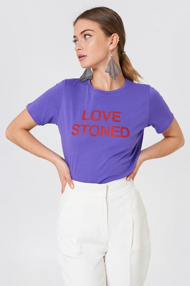 T-shirt Love Stoned NA-KD