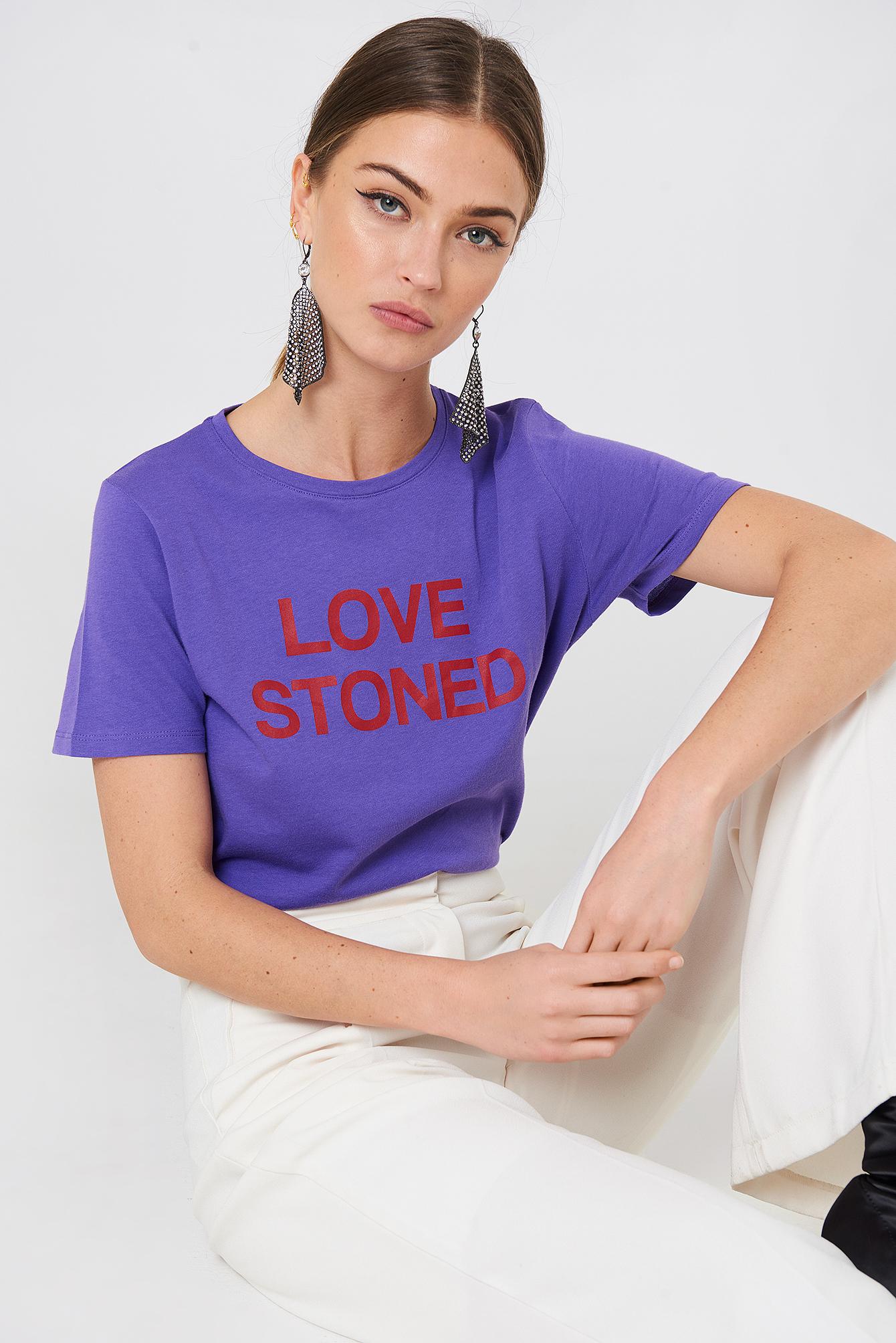 Love Stoned Tee NA-KD.COM