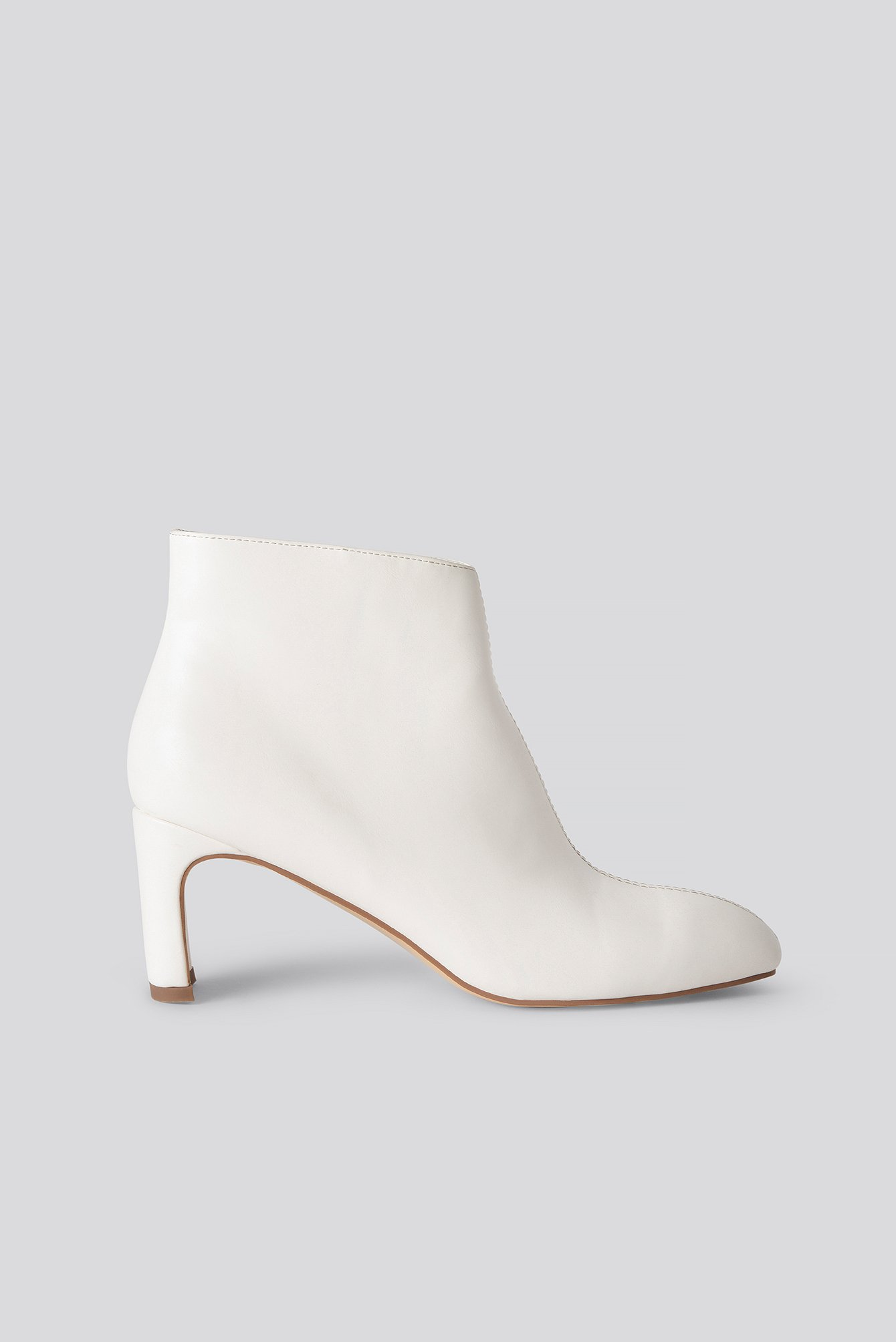 na-kd shoes -  Stiefeletten - White
