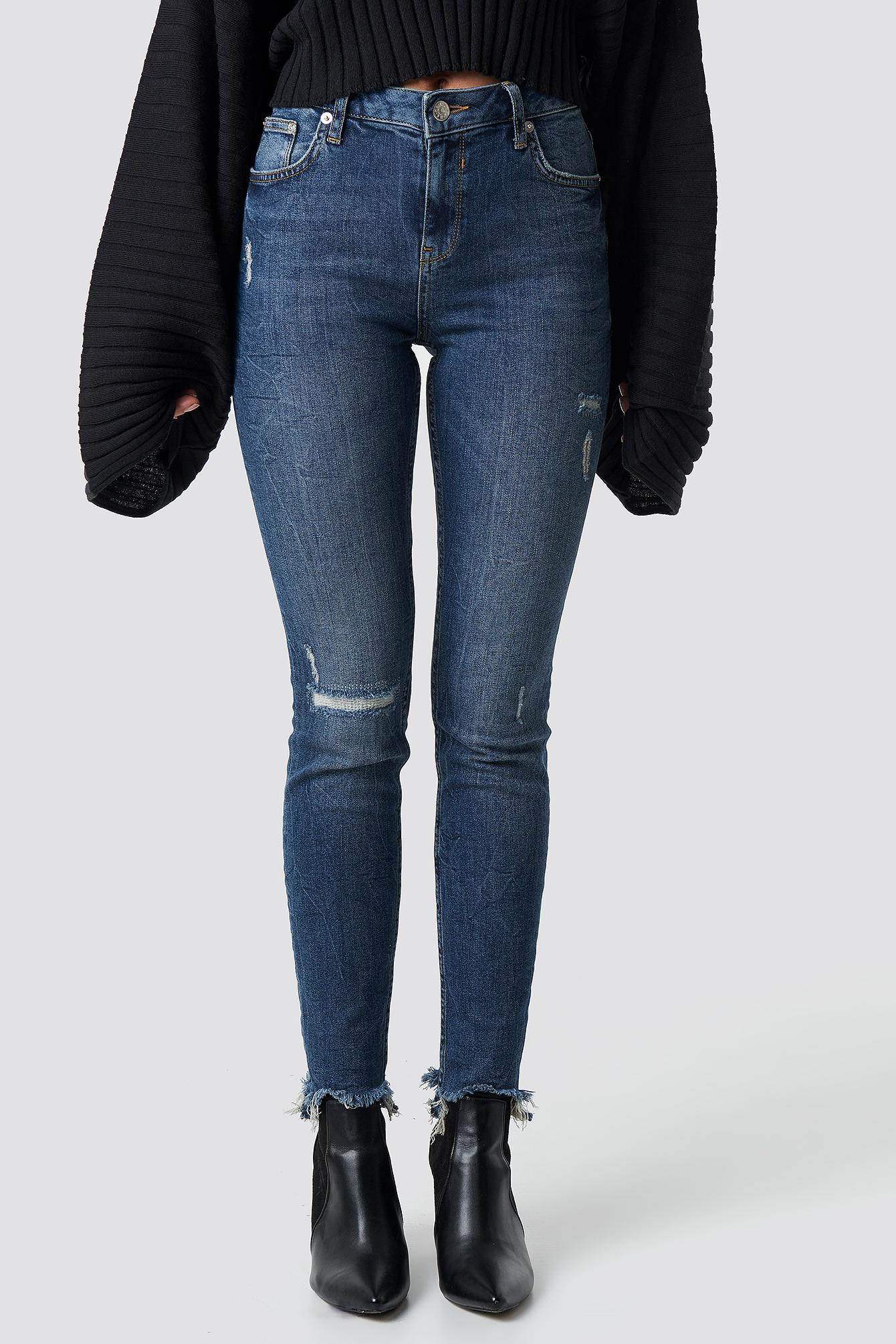 Low Waist Skinny Jeans NA-KD.COM