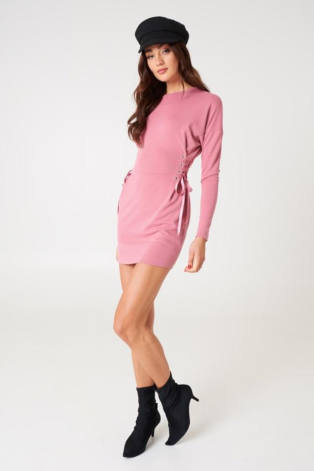 Marta Dress Dusty Pink