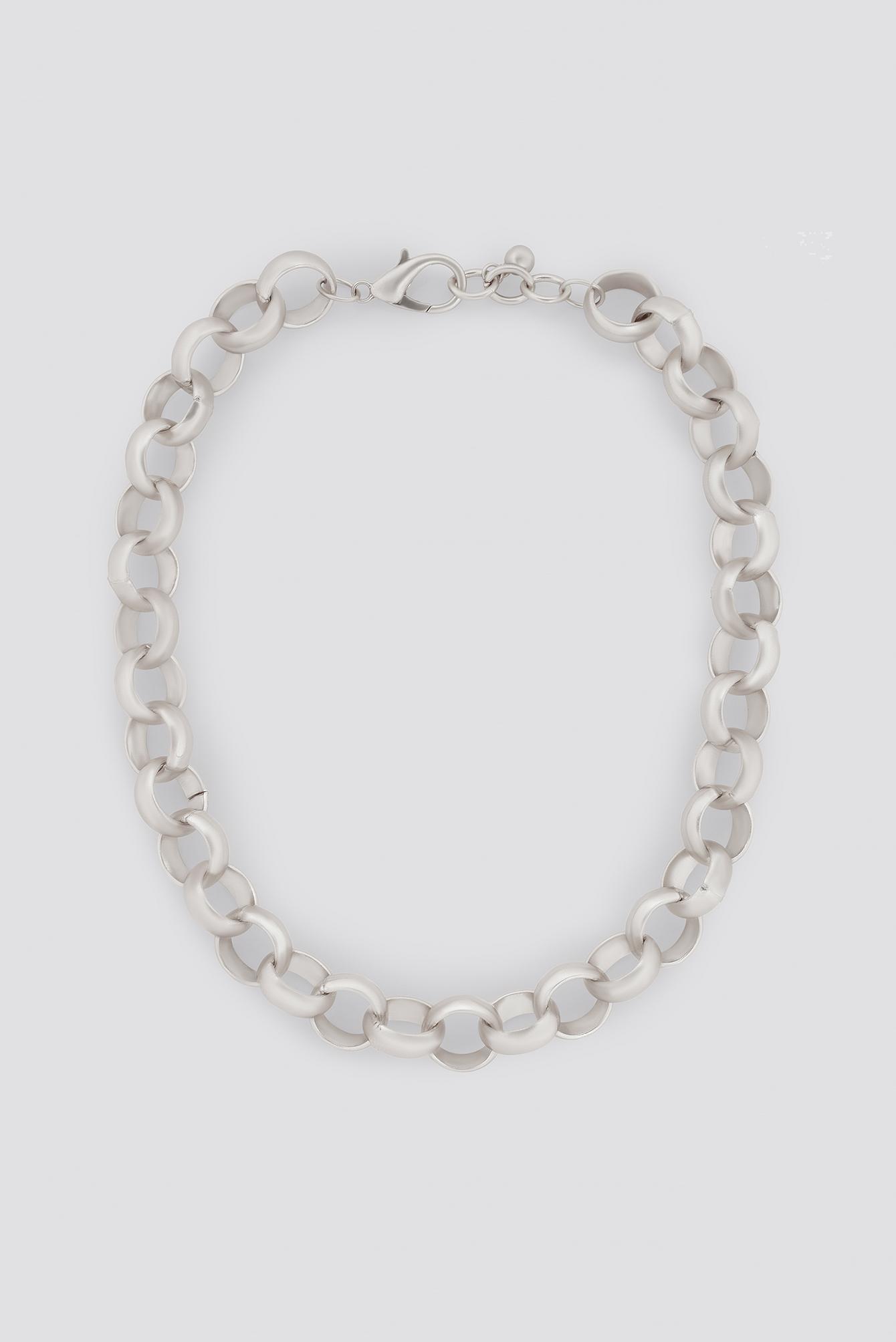 Matte Chunky Chain Necklace NA-KD.COM