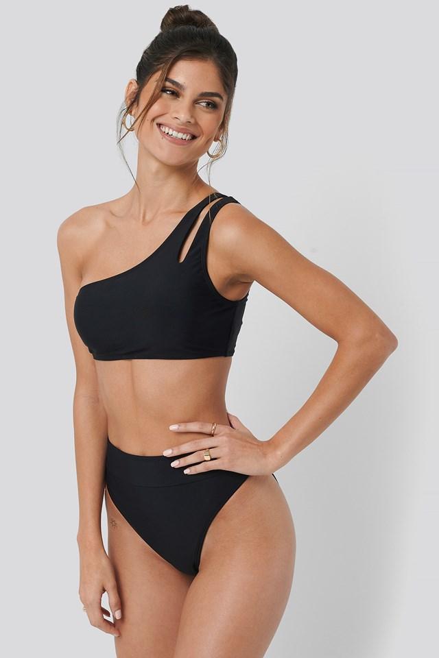 Maxi High Waist Bikini Panty Black