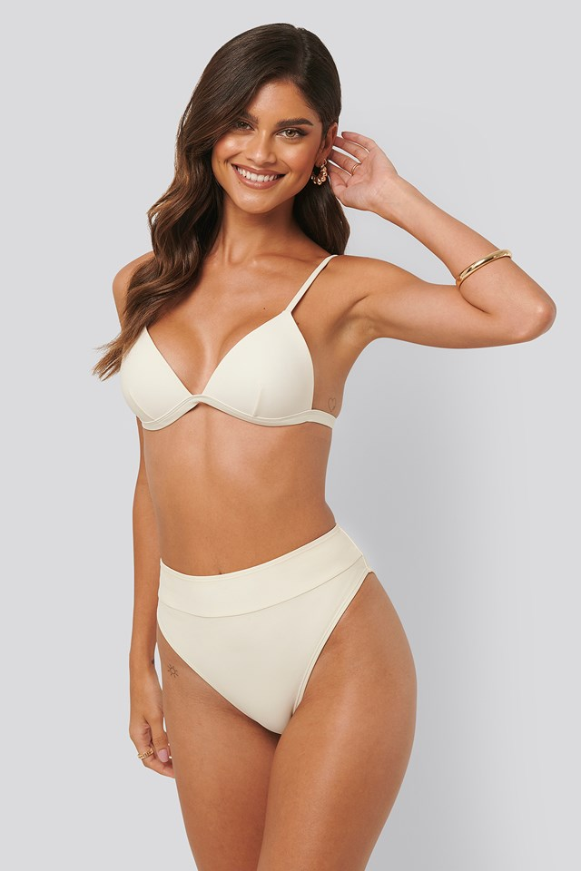 Maxi High Waist Bikini Panty Offwhite