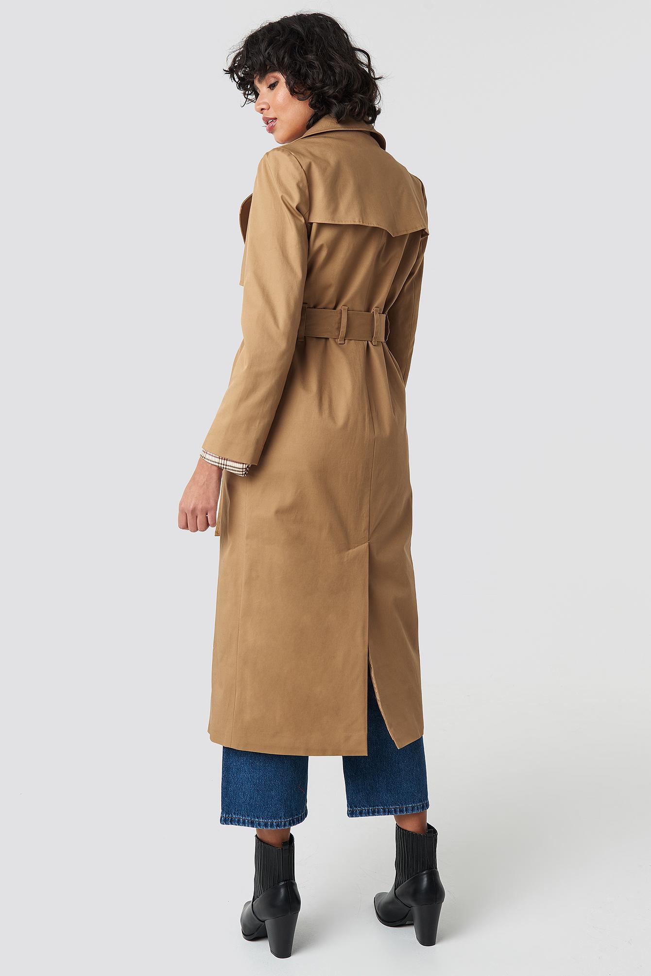 Maxi Trench Coat NA-KD.COM